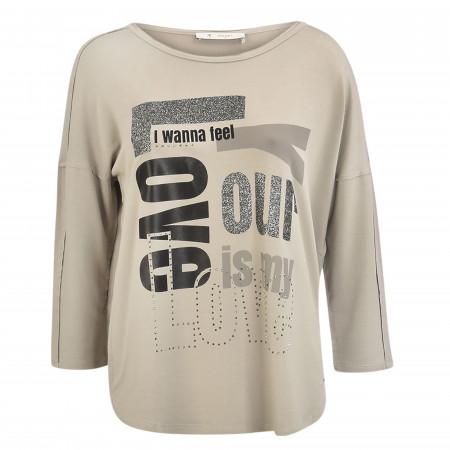 SALE %   Monari   Shirt - Comfort Fit - 3/4-Arm   Grau online im Shop bei meinfischer.de kaufen
