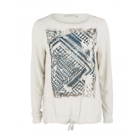SALE % | Monari | Shirt - Regular Fit - Kordelzug | Weiß online im Shop bei meinfischer.de kaufen