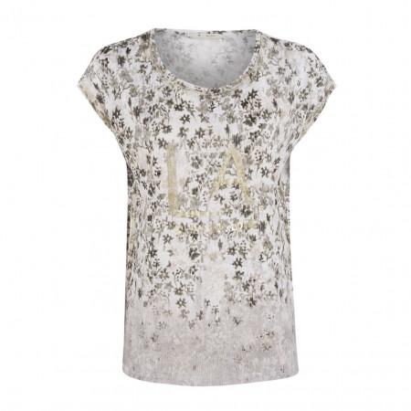SALE %   Boss Casual   Shirt - oversized - LA-Print   Weiß online im Shop bei meinfischer.de kaufen