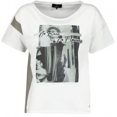 SALE %   Monari   Shirt - Comfort Fit - Print   Weiß online im Shop bei meinfischer.de kaufen