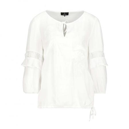 SALE %   Monari   Bluse - Comfort Fit - 3/4-Arm   Weiß online im Shop bei meinfischer.de kaufen
