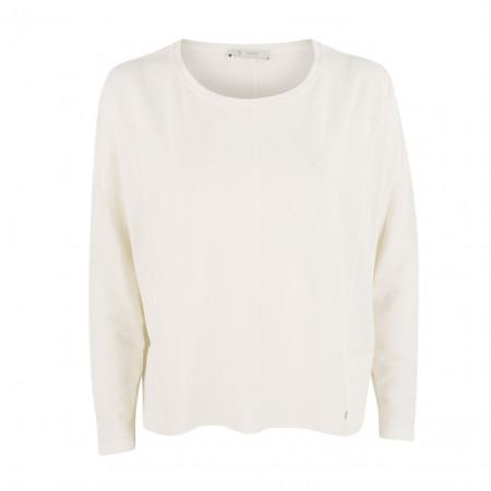 SALE % | Boss Casual | Jerseyshirt - oversized - cropped | Weiß online im Shop bei meinfischer.de kaufen