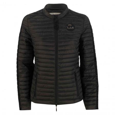 SALE % | Monari | Steppjacke- Regular Fit - Stripe | Schwarz online im Shop bei meinfischer.de kaufen