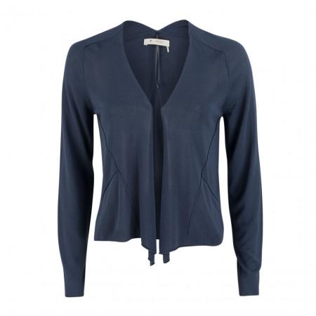 SALE % | Boss Casual | Jacke - Slim Fit  - offen | Blau online im Shop bei meinfischer.de kaufen