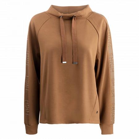SALE %   Monari   Sweatshirt - Regular Fit - Uni   Braun online im Shop bei meinfischer.de kaufen