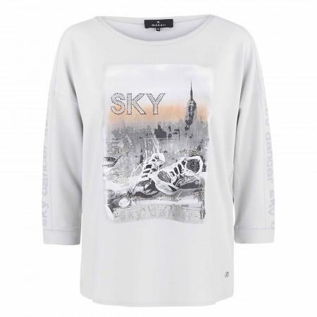 SALE % | Monari | Shirt - Regular Fit - Pailletten | Weiß online im Shop bei meinfischer.de kaufen