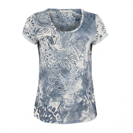 SALE % | Boss Casual | T-Shirt - Regular Fit - Strassdekor | Blau online im Shop bei meinfischer.de kaufen