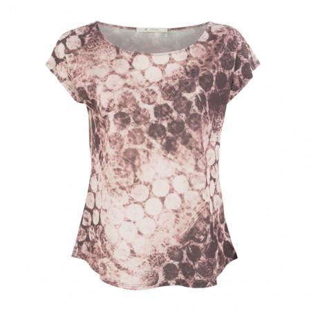 SALE % | Boss Casual | T-Shirt - Oversized - Dots | Rosa online im Shop bei meinfischer.de kaufen