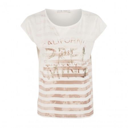 SALE % | Boss Casual | T-Shirt - Regular Fit - Print-Mix | Beige online im Shop bei meinfischer.de kaufen