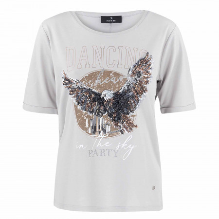 SALE % | Monari | Shirt - Regular Fit - Pailletten | Grau online im Shop bei meinfischer.de kaufen