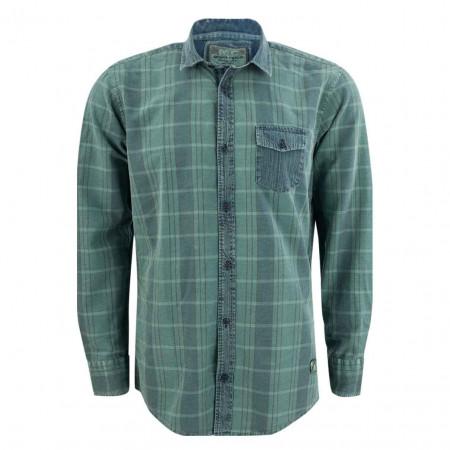 SALE % | Monte Carlo | Freizeithemd - Regular Fit - Muster | Grün online im Shop bei meinfischer.de kaufen