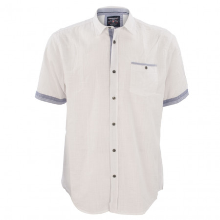 SALE % | Monte Carlo | Freizeithemd - Modern Fit - Classic Kent | Weiß online im Shop bei meinfischer.de kaufen