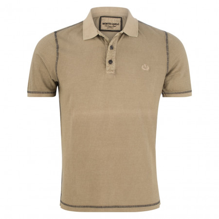SALE % | Monte Carlo | Poloshirt - Regular Fit - Stripes | Beige online im Shop bei meinfischer.de kaufen