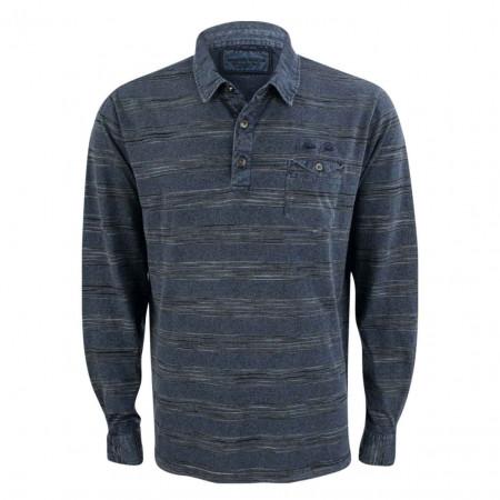 SALE % | Monte Carlo | Poloshirt - Comfort Fit - Stripes | Blau online im Shop bei meinfischer.de kaufen