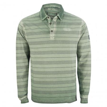 SALE % | Monte Carlo | Poloshirt - Regular Fit - Stripes | Grün online im Shop bei meinfischer.de kaufen