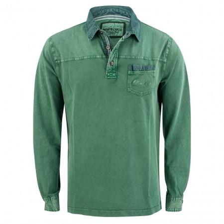 SALE %   Monte Carlo   Poloshirt - Regular Fit - Brusttasche   Grün online im Shop bei meinfischer.de kaufen
