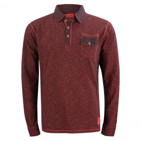 SALE %   Monte Carlo   Poloshirt - Regular Fit - Stripes   Rot online im Shop bei meinfischer.de kaufen