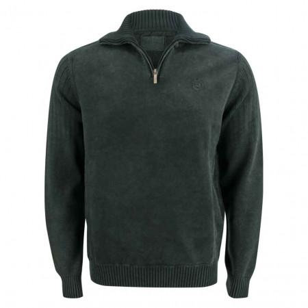 SALE %   Monte Carlo   Pullover - Regular Fit - Zipper   Grün online im Shop bei meinfischer.de kaufen
