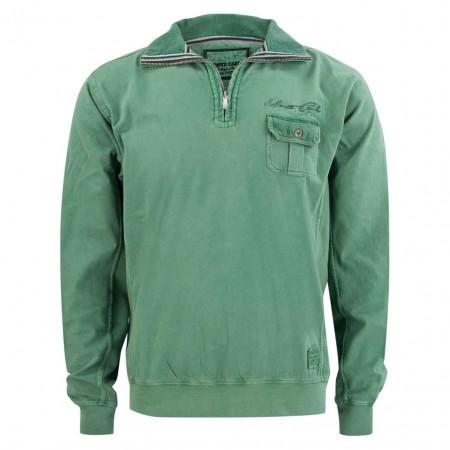 SALE % | Monte Carlo | Sweatshirt - Regular Fit - Zipper | Grün online im Shop bei meinfischer.de kaufen