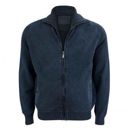 SALE % | Monte Carlo | Sweatjacke - Regular Fit - Zipper | Blau online im Shop bei meinfischer.de kaufen