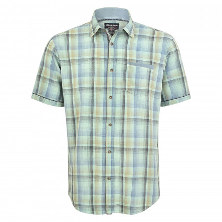 SALE % | Monte Carlo | Freizeithemd - Modern Fit - Karomuster | Grün online im Shop bei meinfischer.de kaufen