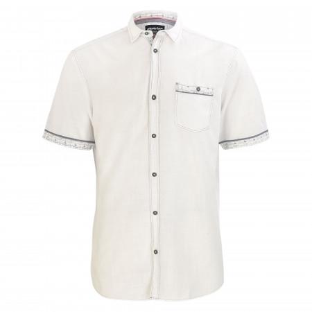SALE % | Monte Carlo | Freizeithemd - Modern Fit - Kentkragen | Weiß online im Shop bei meinfischer.de kaufen