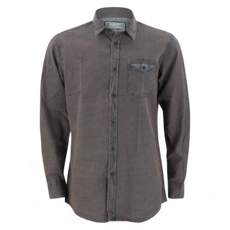 SALE % | Monte Carlo | Hemd - Regular Fit -  Brusttasche | Grau online im Shop bei meinfischer.de kaufen