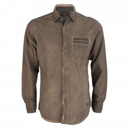 SALE % | Monte Carlo | Freizeithemd - Regular Fit - Kentkragen | Braun online im Shop bei meinfischer.de kaufen