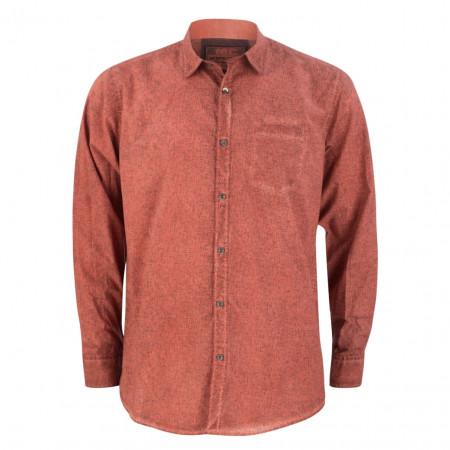 SALE % | Monte Carlo | Freizeithemd - Regular Fit - Kent-Kragen | Rot online im Shop bei meinfischer.de kaufen