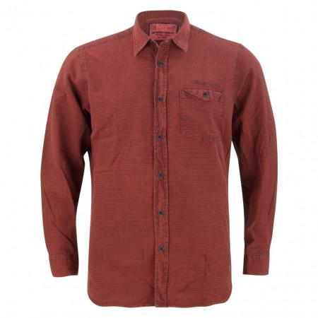 SALE % | Monte Carlo | Hemd - Regular Fit -  Brusttasche | Rot online im Shop bei meinfischer.de kaufen