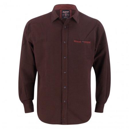 SALE % | Monte Carlo | Hemd - Regular Fit -  Dot | Rot online im Shop bei meinfischer.de kaufen