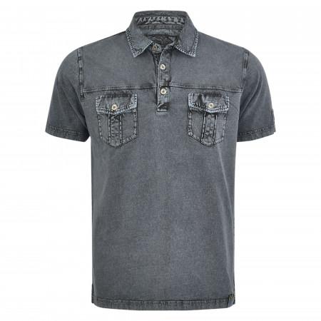 SALE % | Monte Carlo | Poloshirt - Regular Fit - unifarben | Grau online im Shop bei meinfischer.de kaufen