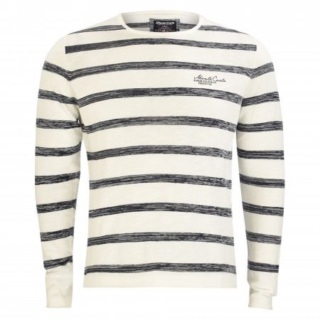 SALE % | Monte Carlo | Pullover - Regular Fit - Crewneck | Weiß online im Shop bei meinfischer.de kaufen