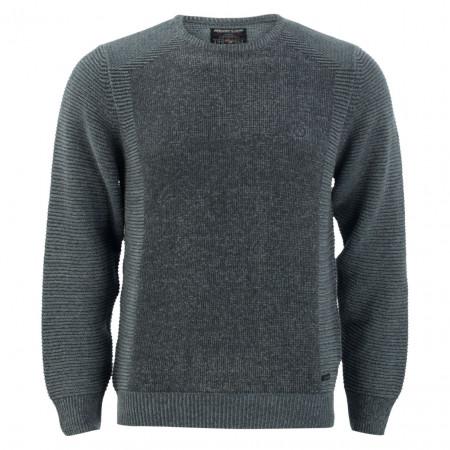 SALE % | Monte Carlo | Pullover - Regular Fit - Crewneck | Grau online im Shop bei meinfischer.de kaufen