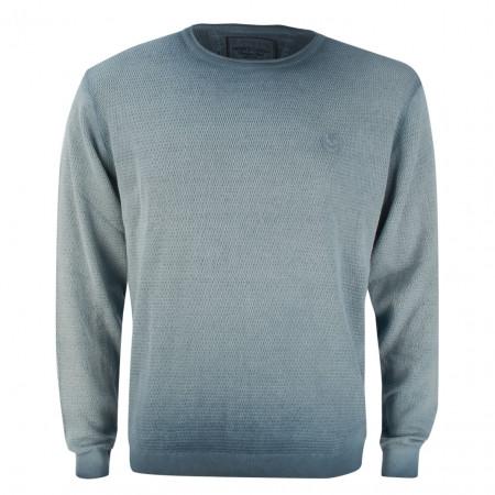 SALE % | Monte Carlo | Pullover - Regular Fit - Cold dye-Optik | Blau online im Shop bei meinfischer.de kaufen