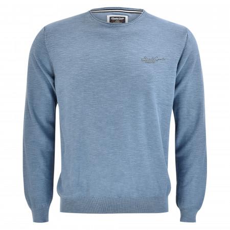 SALE % | Monte Carlo | Pullover - Regular Fit - Crewneck | Blau online im Shop bei meinfischer.de kaufen