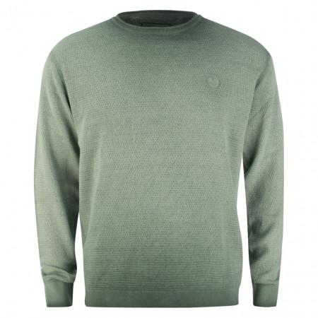 SALE % | Monte Carlo | Pullover - Regular Fit - Cold dye-Optik | Grün online im Shop bei meinfischer.de kaufen