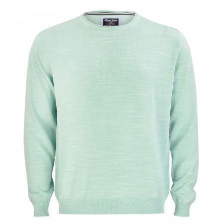 SALE % | Monte Carlo | Pullover - Regular Fit - Melange-Optik | Grün online im Shop bei meinfischer.de kaufen