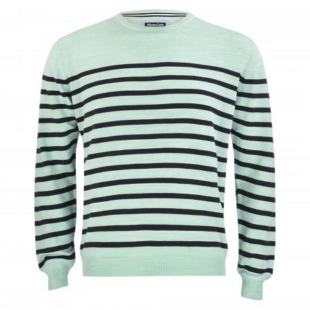 SALE %   Monte Carlo   Pullover - Regular Fit - Stripes   Grün online im Shop bei meinfischer.de kaufen