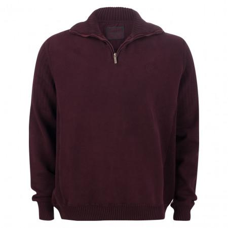 SALE % | Monte Carlo | Pullover - Regular Fit - Zipper | Rot online im Shop bei meinfischer.de kaufen