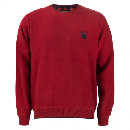 SALE % | Monte Carlo | Pullover - Regular Fit - Crewneck | Rot online im Shop bei meinfischer.de kaufen