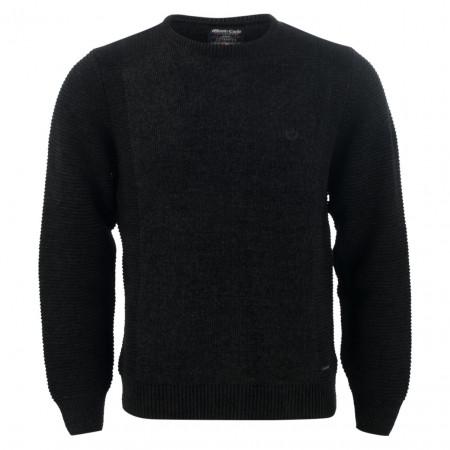 SALE %   Monte Carlo   Pullover - Regular Fit - Crewneck   Schwarz online im Shop bei meinfischer.de kaufen