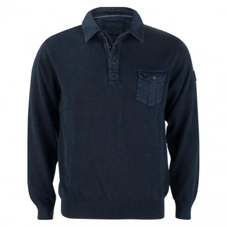 SALE %   Monte Carlo   Pullover - Regular Fit - Polokragen   Blau online im Shop bei meinfischer.de kaufen