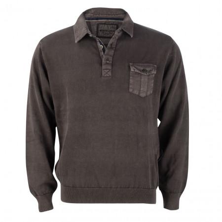 SALE % | Monte Carlo | Pullover - Regular Fit - Polokragen | Braun online im Shop bei meinfischer.de kaufen
