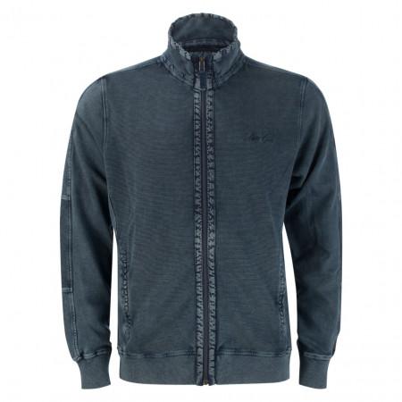 SALE % | Monte Carlo | Sweatjacke - Regular Fit - Cold dye-Optik | Blau online im Shop bei meinfischer.de kaufen