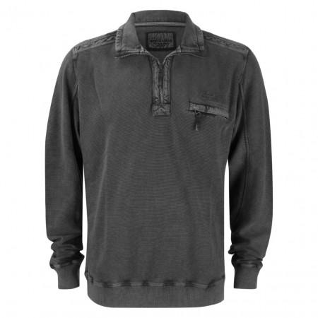 SALE % | Monte Carlo | Pullover - Regular Fit - Zipper | Grau online im Shop bei meinfischer.de kaufen