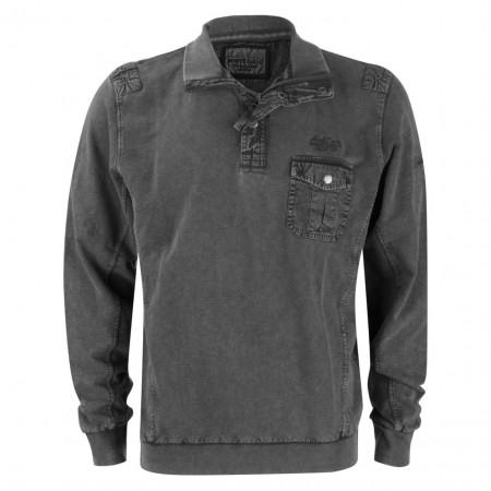 SALE %   Monte Carlo   Sweater - Regular Fit - Zipper   Grau online im Shop bei meinfischer.de kaufen