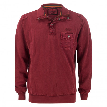 SALE %   Monte Carlo   Sweater - Regular Fit - Zipper   Rot online im Shop bei meinfischer.de kaufen