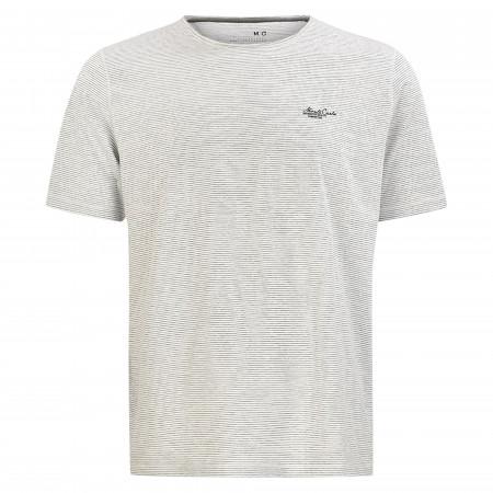 SALE %   Monte Carlo   T-Shirt - Regular Fit - Stripes   Grau online im Shop bei meinfischer.de kaufen