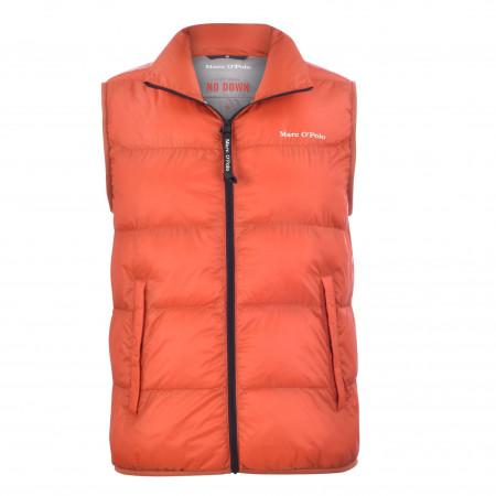 SALE % | Marc O'Polo | Steppweste - Regular Fit - unifarben | Orange online im Shop bei meinfischer.de kaufen